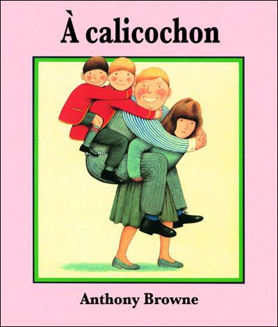 Chez les Porchon, toute l'organisation de la maison repose sur les épaules de madame... A Calicochon, un livre d'Anthony Browne (DR)