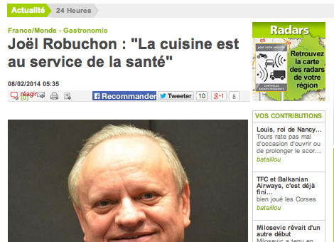 Le restaurant Magrez-Robuchon ouvrira fin 2014