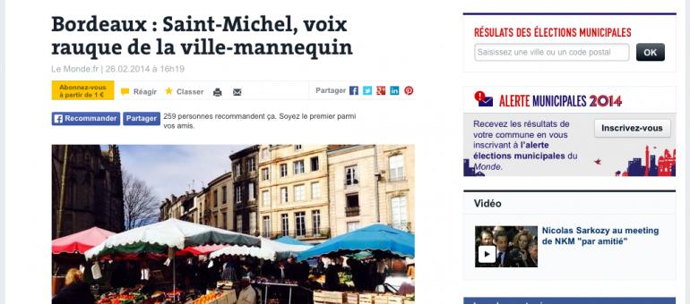 Saint-Michel, le «grumeau urbain» de Bordeaux