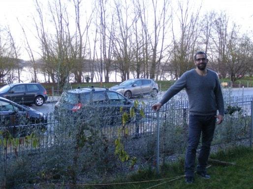 Locataire, Josselin veut quitter son appartement avec vue sur le lac et la rocade (Photo SB/Rue89 Bordeaux)