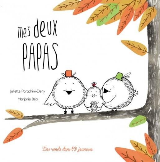 """""""Mes deux papas"""", un livre mis à l'index par les anti mariage pour tous. (DR)"""