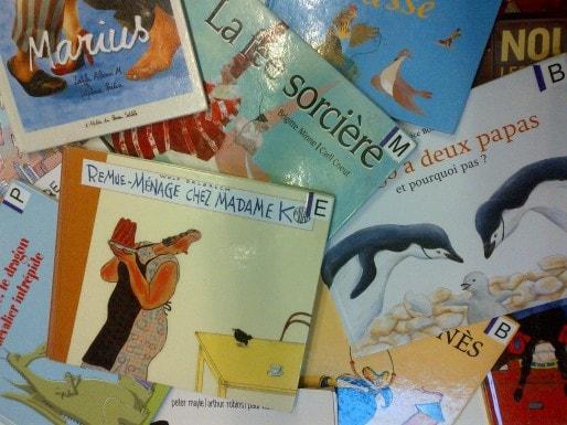Quelques albums battant en brèche les stéréotypes de genre (Photo Elsa Dorey/Rue89 Bordeaux)