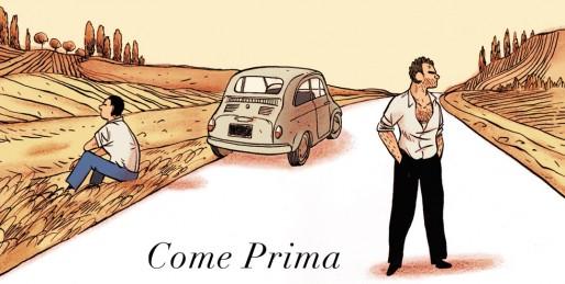 """""""Come prima"""", le retour en Italie de deux frangins brouillés (Alfred/Delcourt)"""