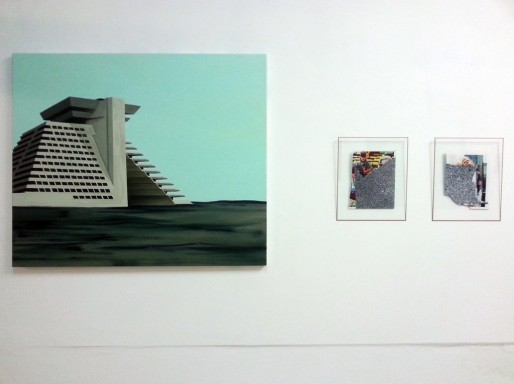 Exposition See U Tonight : à gauche, Johann Milh ; à droite, Tatiana Defraine (photo 5UN 7)