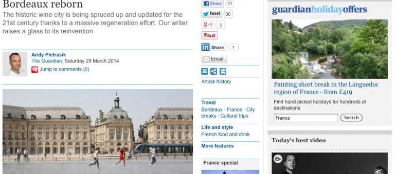 Le réveil de Bordeaux vu par les Anglais
