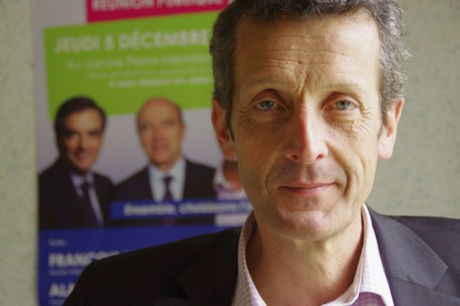 """Jacques Mangon, candidat de """"l'alternative pour Saint-Médard"""", soutenu par Alain Juppé (AC/Rue89 Bordeaux)"""
