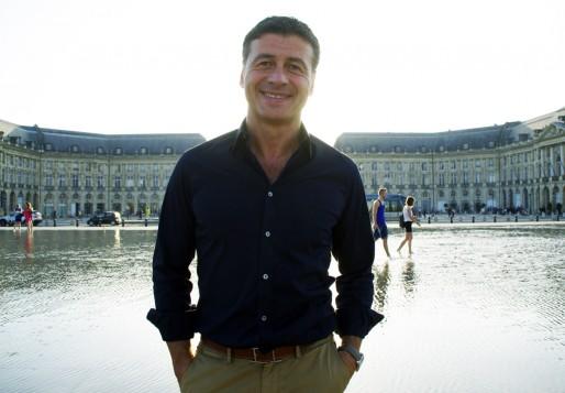 Laurent Marti, président de l'Union Bordeaux-Bègles (photo Anne Chaput/Rue89 Bordeaux)