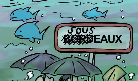 Les inondations à Bordeaux