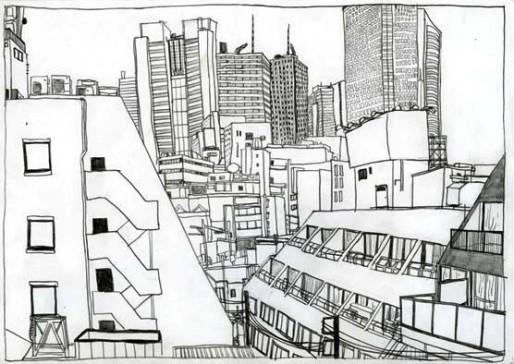Le quartier de Shibuya, Aï Akiyama (DR)