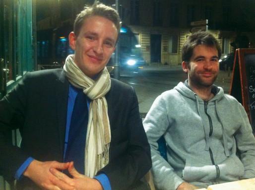 Pierre-Marie Vilette et Vincent Bart, Bordeaux 2066 (WS/Rue89 Bordeaux)