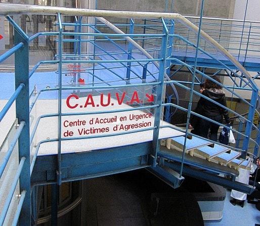 Le Cauva se situe au sous-sol de l'hôpital Pellegrin à Bordeaux (photo AC/Rue89 Bordeaux)