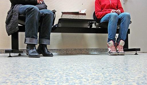 Dans la salle d'attente du Cauva, 4000 personnes sont passées en 2012, dont 59% de femmes (photo Aline Chambras/Rue89 Bordeaux)