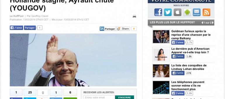 Un nouveau sondage désigne Juppé personnalité politique préférée des Français