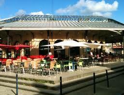 La terrasse du Bistrot de la Halle, place du marché des Chartrons (DR)