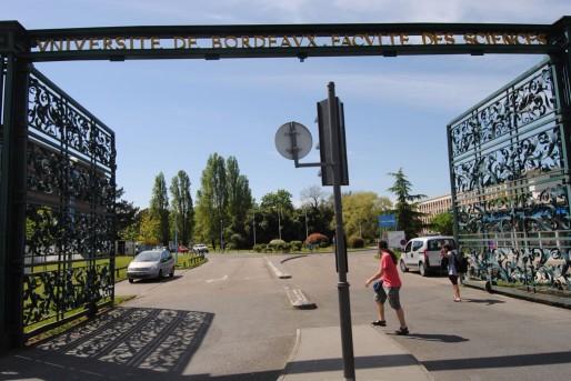 L'entrée de l'Université de Bordeaux I (WS/Rue89 Bordeaux)
