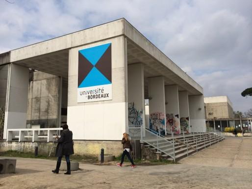 """Pour certains, la Nouvelle université de Bordeaux est une """"usine à gaz"""" (Photo JG/Rue89 Bordeaux)"""