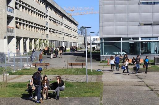 Les étudiants et les personnels ne portent pas la NUB aux nues (photo JG/Rue89 Bordeaux)