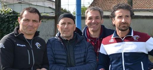 Le staff sportif de l'UBB saison 2014/2015 (DR)