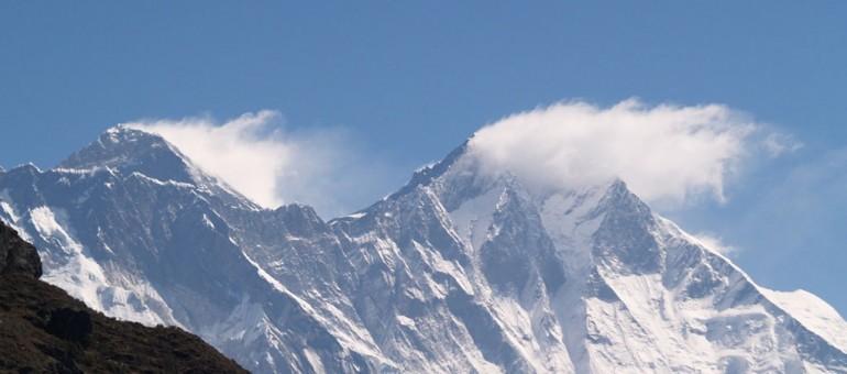 Un Bordelais au pied de l'Everest, un géant de roche et de glace