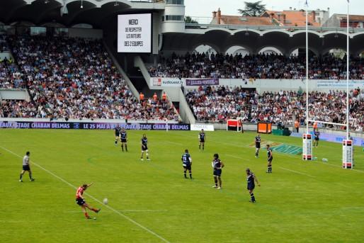 Pénalité pour Toulon face à l'UBB (WS/rue89 Bordeaux)