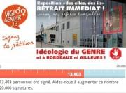 Appel à la signature de la pétition lancé par VigiGender (DR)