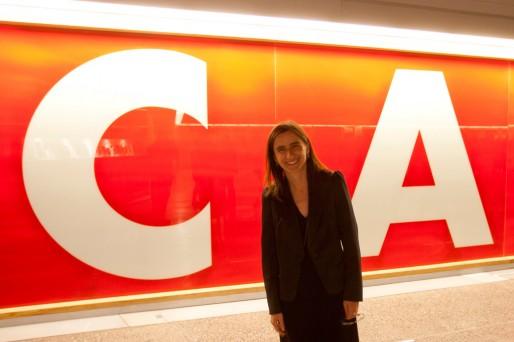 """Maria Inés Rodriguez, la nouvelle directrice du CAPC, considère ce lieu """"mythique"""" et très important sur le plan international (AC/Rue89 Bordeaux)"""