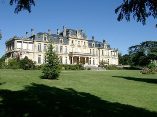Le château Bourran à Mérignac
