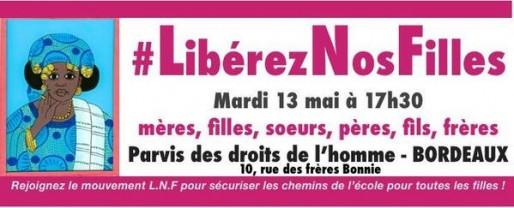 #LibérezNosFilles (DR)