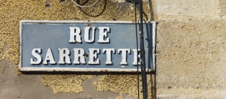 La rue Sarrette à Belcier, là où tout commence