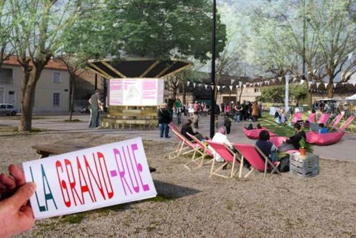 La Grand Rue, samedi 31 mai place (Bruit du Frigo)
