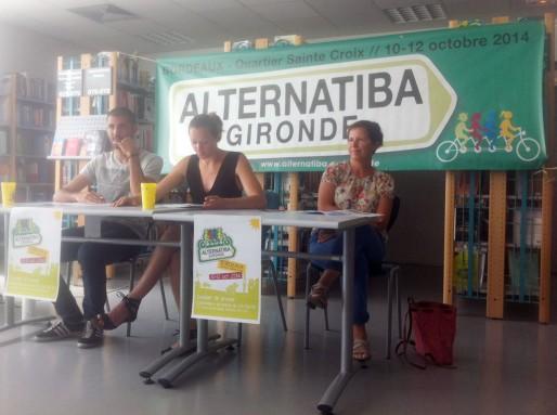 La présentation d'Alternatiba Gironde (WS/Rue89 Bordeaux)