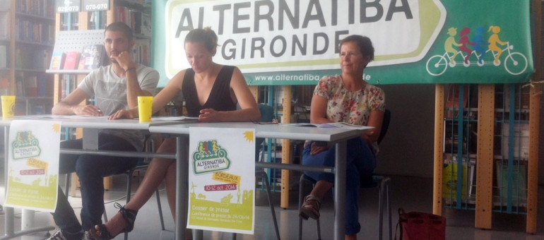 Alternatiba Gironde : le 10, 11, 12 octobre à Sainte-Croix