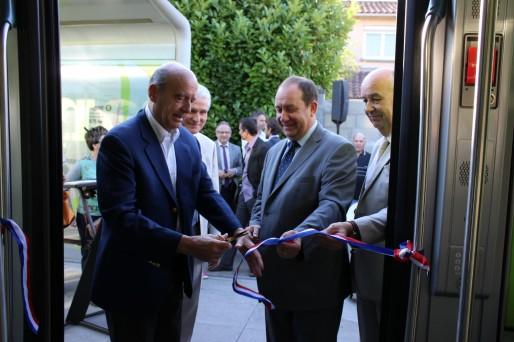 Pour Alain Juppé le tramway est l'instrument privilégié du désenclavement de Bacalan (YB/Rue89 Bordeaux)