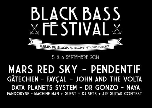 La programmation du festival Black Bass (DR)