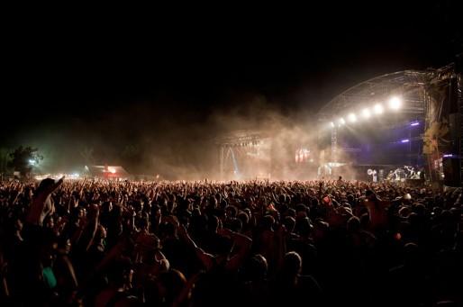 Un concert du festival Reggae Sun Ska (photo Valentin Campagnie)