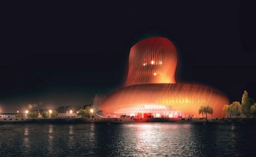 L'ouverture de la Cité du Cin, un des événements culturels bordelais de 2016 (DR/XTU architectes)