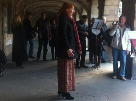Le chant lyrique aussi descend dans la rue pour la fête de la musique (WS/Rue89 Bordeaux)