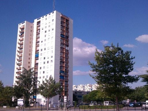 Le quartier Palmer, à Cenon, toujours prioritaire (Photo Stéphane Moreale/Rue89 Bordeaux)