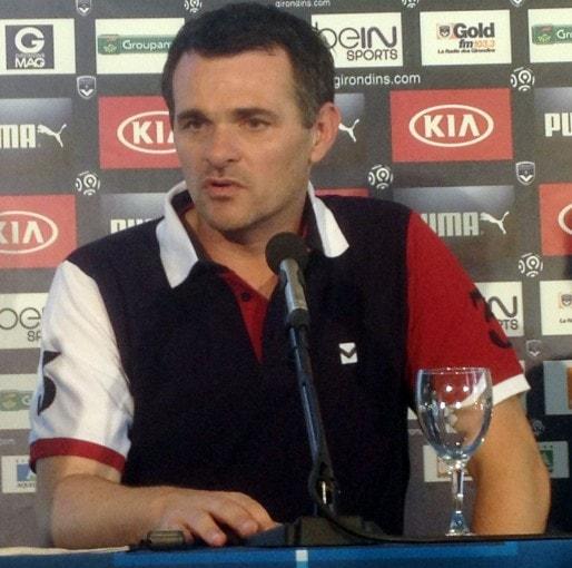 Willy Sagnol entraînait l'équipe de France des moins de 20 ans avant de prendre en main les Girondins (Photo VR/Rue89 Bordeaux)