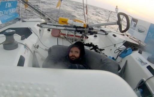 Clément Salzes, un peu perdu à son réveil de la sieste ! (DR)