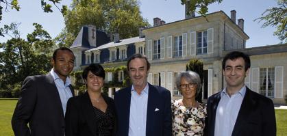 L'équipe des Domaines Henri Martin, à la tête desquels Jean-Louis Triaud a succédé à son beau-père (DR)