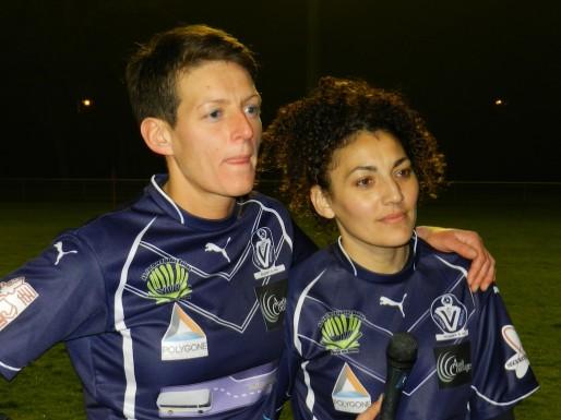 Hayate Chrouki (à droite) (Photo Jean-Pierre Brun)