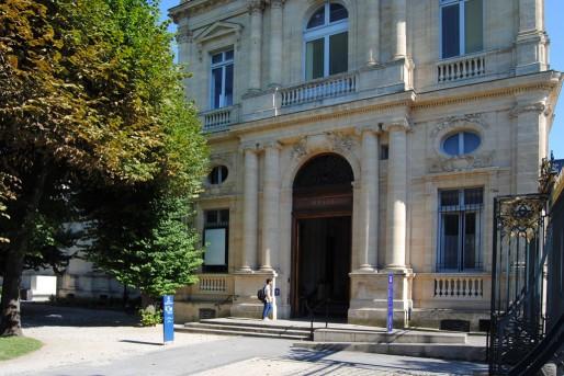 L'entrée du Musée des Beaux-Arts de Bordeaux, aile sud (WS/Rue89 Bordeaux)