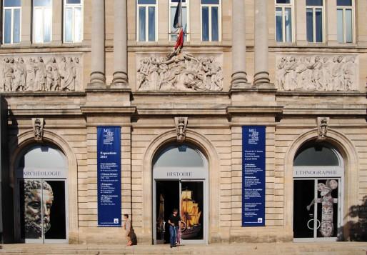 La façade du Musée d'Aquitaine (WS/Rue89 Bordeaux)