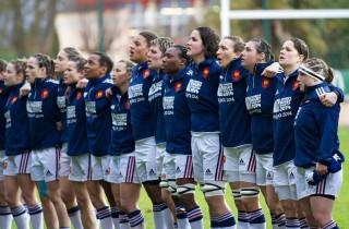 L'équipe de France de rugby démarre sa coupe du monde, avec Camille Grassineau (4ème en partant de la gauche) (Photo wikipedia)