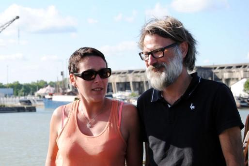 Corinne Bauer et Benoît Guérinault (WS/Rue89 Bordeaux)