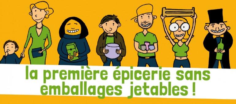 La Recharge, l'épicerie du vrac ouvre à Bordeaux