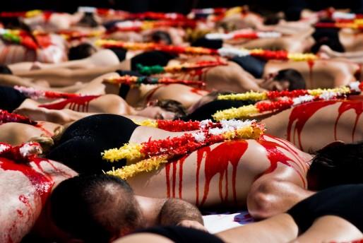 Manifestation anti-corrida (Ekinez Sortu/flickr/CC)