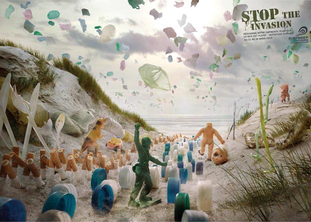 Arrêtez l'invasion des déchets (Surfrider Foundation)