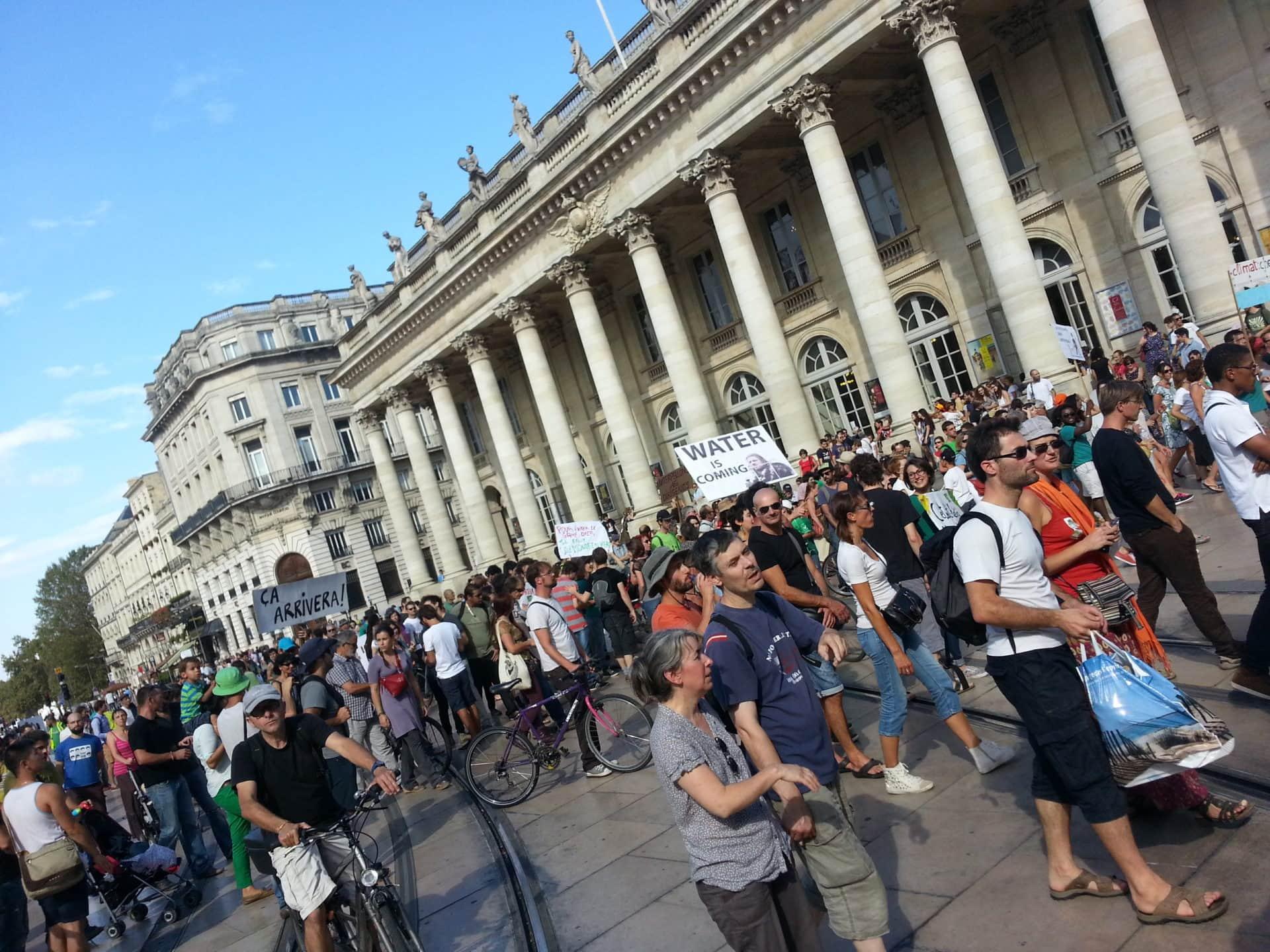 8 septembre : Une marche pour le climat et une action contre l'avion à Bordeaux